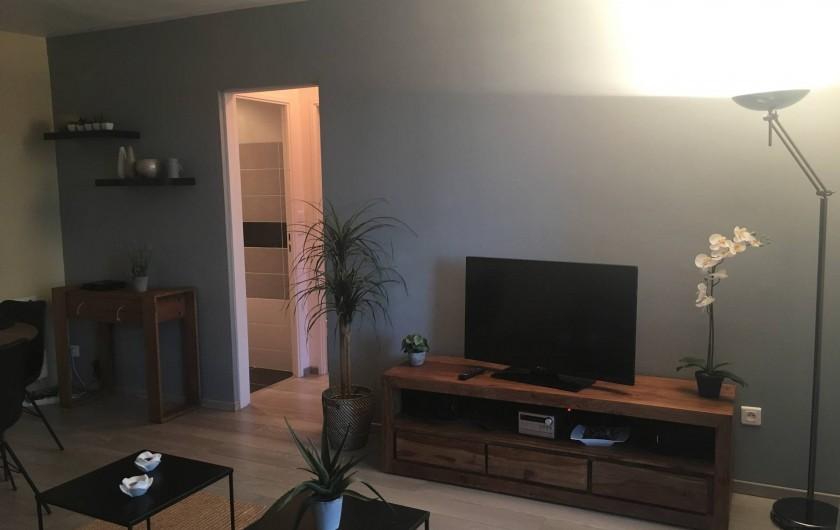 Location de vacances - Appartement à Cassis - La pièce principale