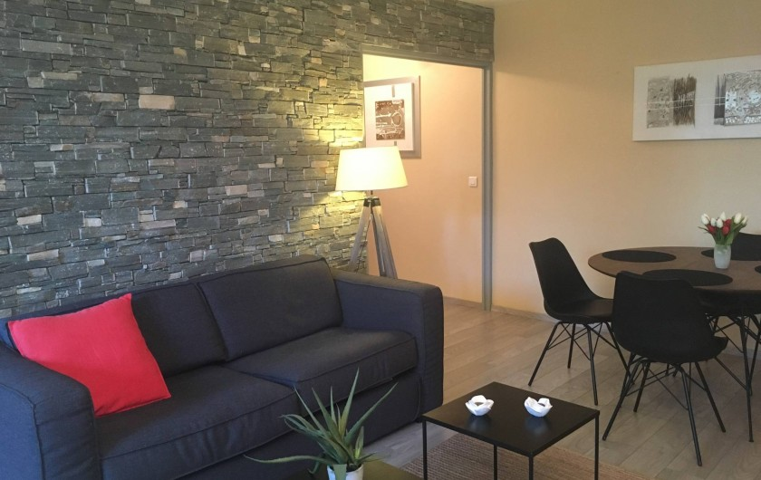 Location de vacances - Appartement à Cassis - Le salon