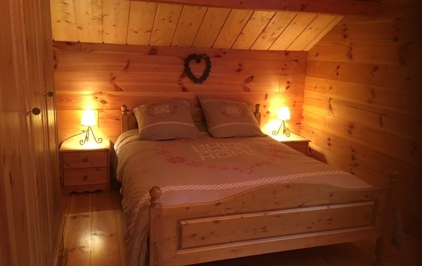 Location de vacances - Chalet à Villard-Reculas - Chambre 3 - Lit double