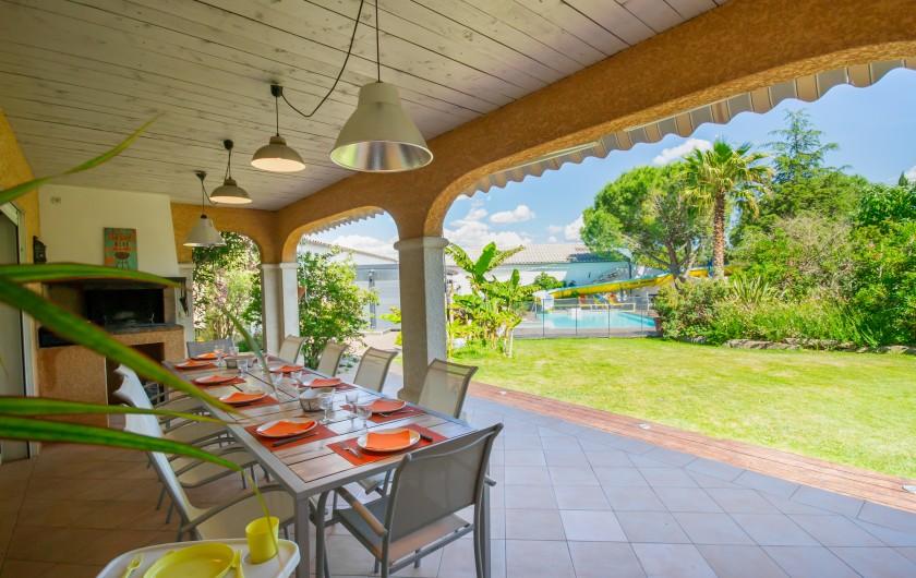Location de vacances - Villa à Pépieux - ESPACE PISCINE ET LE COMB' ANACONDA DE 18ML DE GLISSE