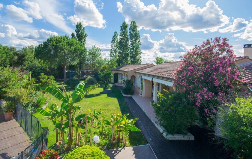 Location de vacances - Villa à Pépieux - SEJOUR COIN REPAS