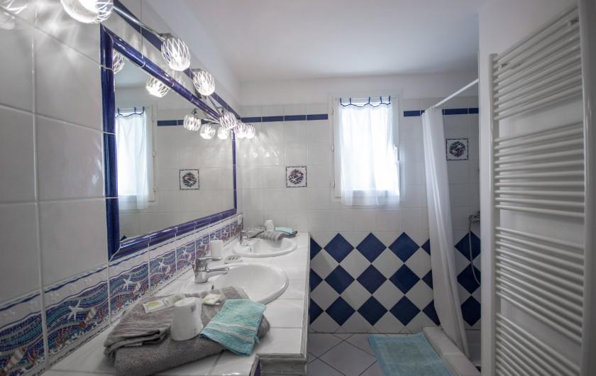 Location de vacances - Villa à Pépieux - CHAMBRE DES ROSES
