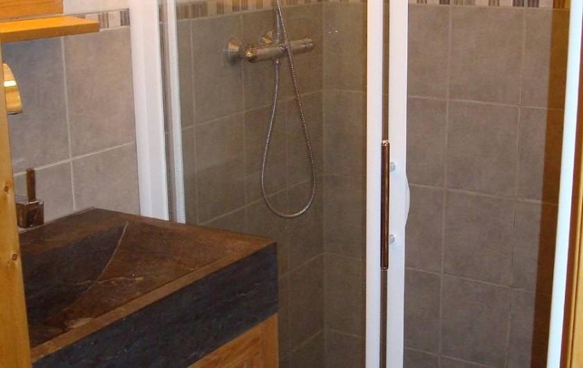 Location de vacances - Appartement à Villaroger - Salle d'eau