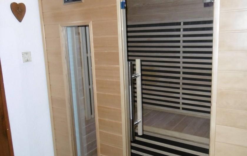 Location de vacances - Appartement à Villaroger - Sauna