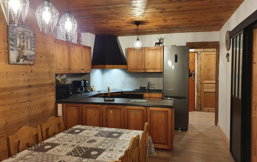 Location de vacances - Appartement à Villaroger - Cuisine américaine