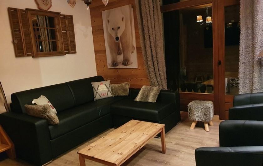Location de vacances - Appartement à Villaroger - Séjour