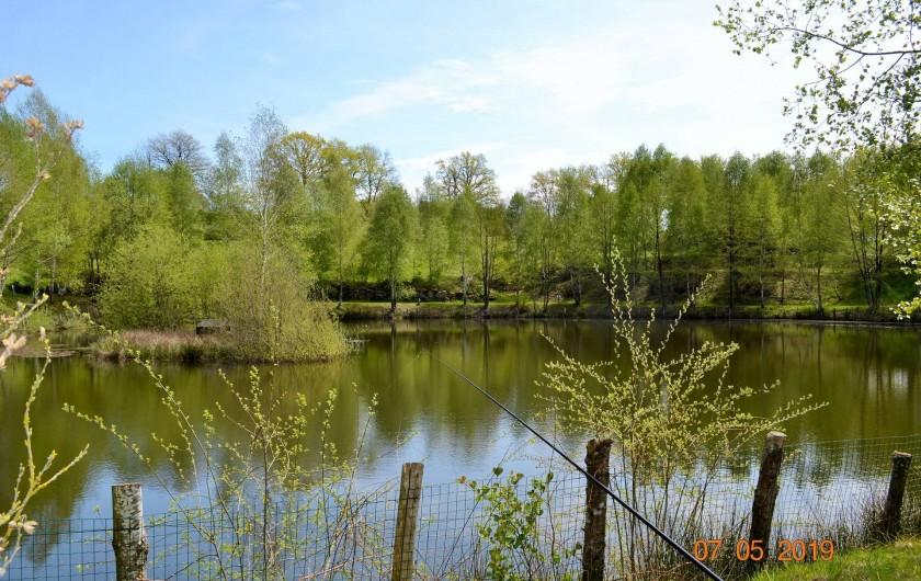 Location de vacances - Gîte à Latronquière - Étang de pêche