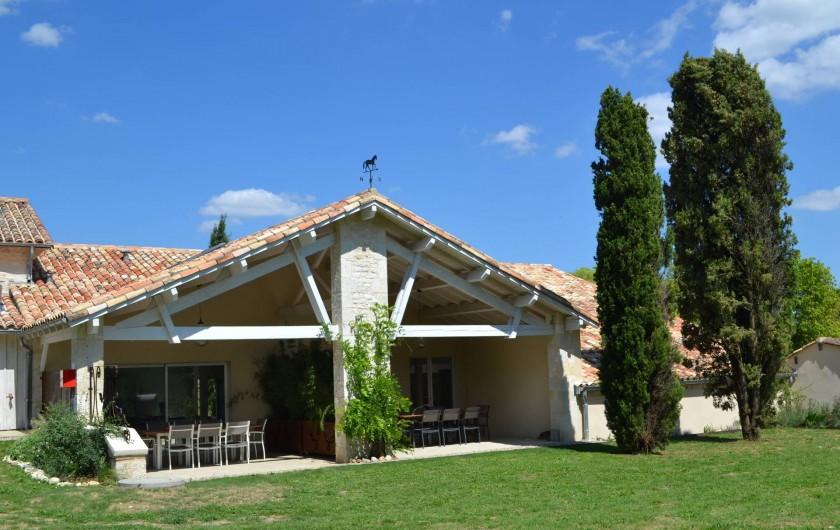 Location de vacances - Gîte à Lougratte - terrasse