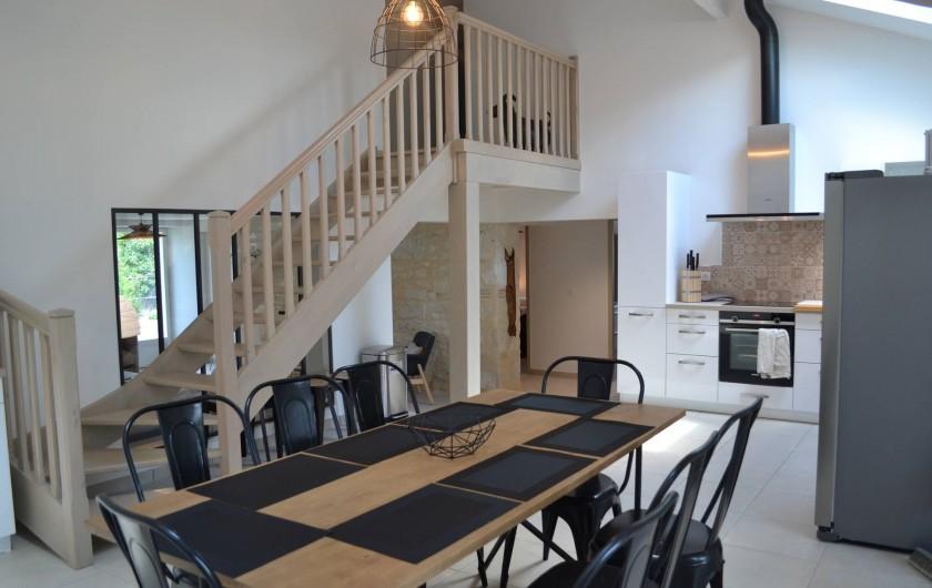 Location de vacances - Gîte à Lougratte - cuisine
