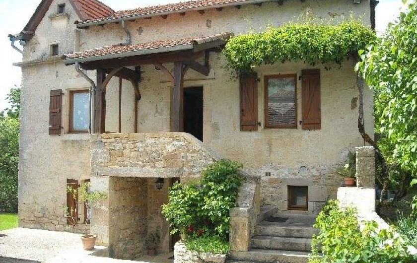 Location de vacances - Gîte à Sainte-Croix - Façade de la maison