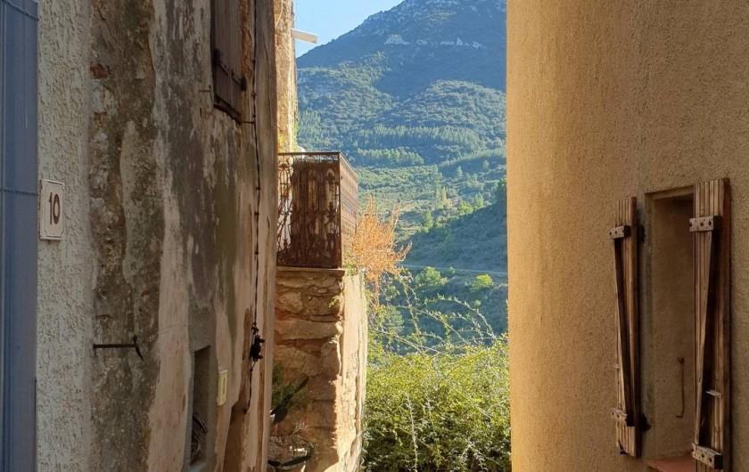 Location de vacances - Chambre d'hôtes à Tautavel - Tautavel - Ruelle