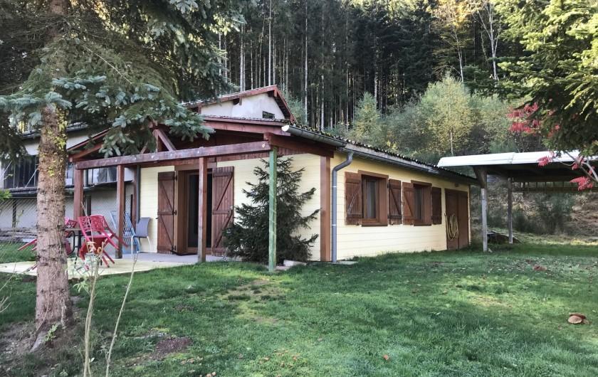 Location de vacances - Chalet à Anould - GITE POISSON