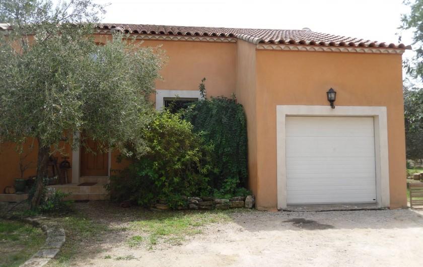 Location de vacances - Villa à Aubais - Entrée de la maison