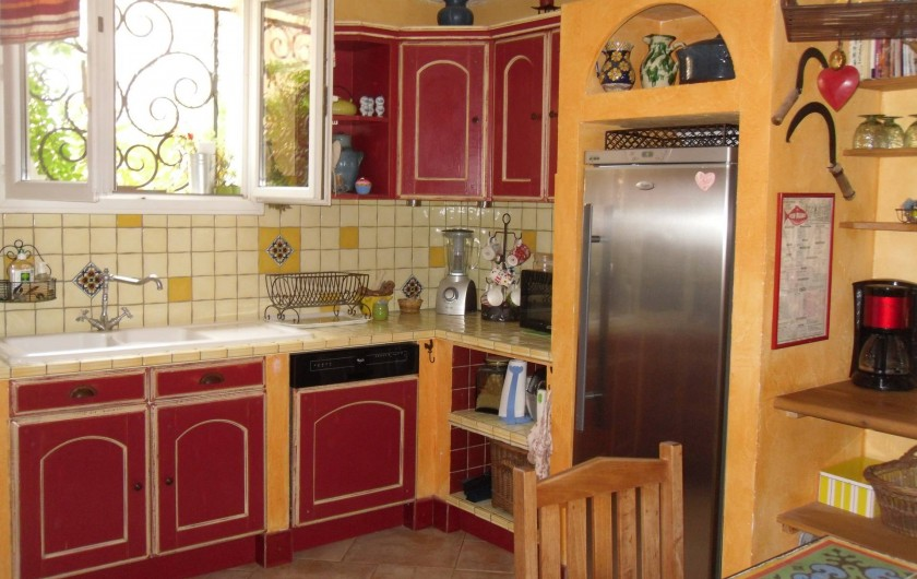 Location de vacances - Villa à Aubais - cuisine