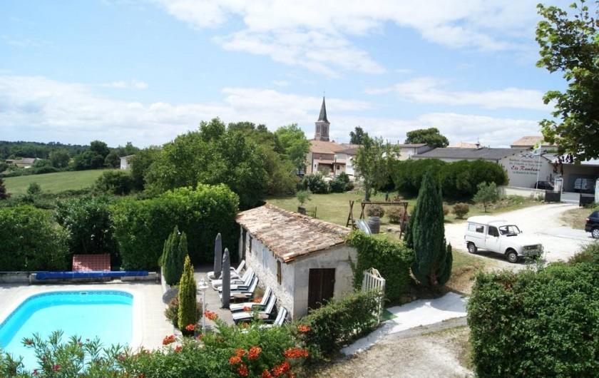 Location de vacances - Chambre d'hôtes à Soubran - Domaine la Fontaine
