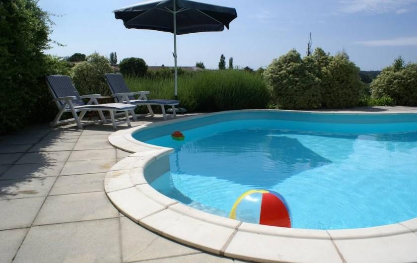 Location de vacances - Chambre d'hôtes à Soubran - Piscine chauffée