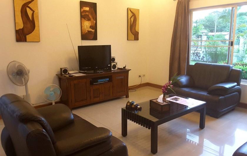 Location de vacances - Maison - Villa à Phe - Living room , Big TV