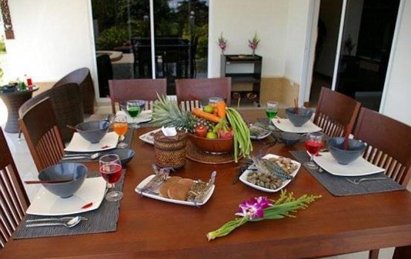 Location de vacances - Maison - Villa à Phe - Table & see food