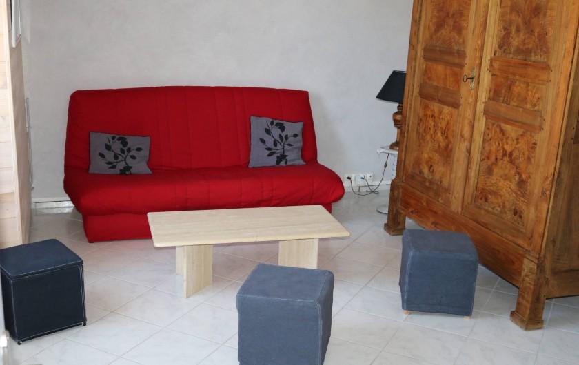Location de vacances - Appartement à Marigny - Salon