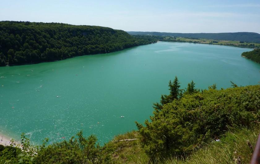 Location de vacances - Appartement à Marigny - Lac Chalain