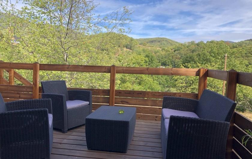 Location de vacances - Maison - Villa à Breitenbach - Terrasse