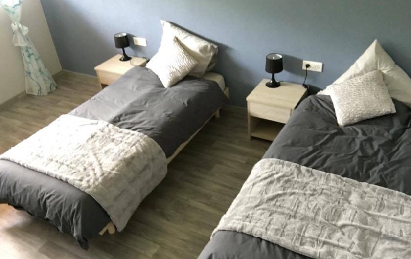 Location de vacances - Maison - Villa à Breitenbach - Chambre bleue