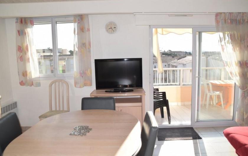 Location de vacances - Appartement à Fréjus - Séjour