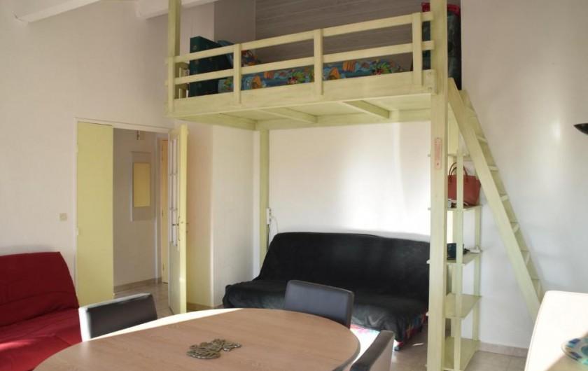 Location de vacances - Appartement à Fréjus - Mézzanine