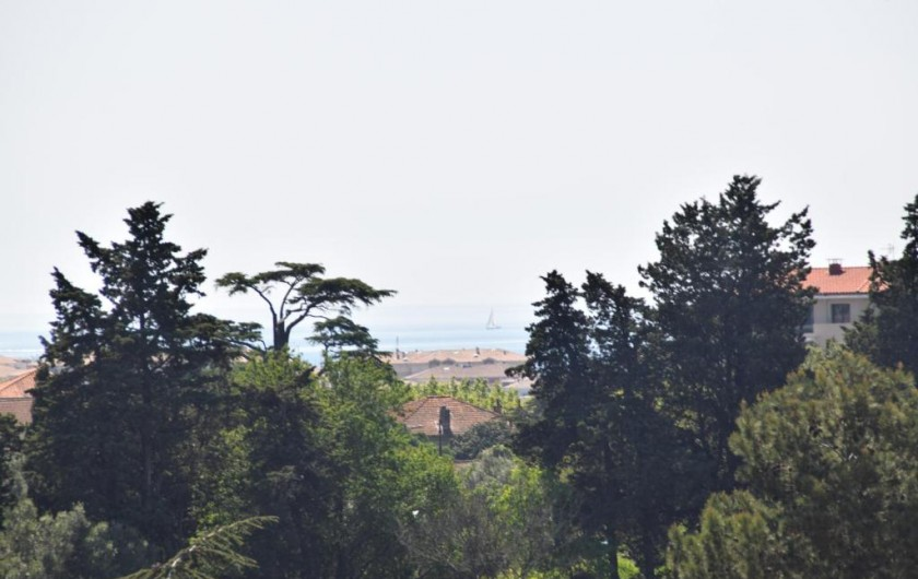 Location de vacances - Appartement à Fréjus - Vue mer