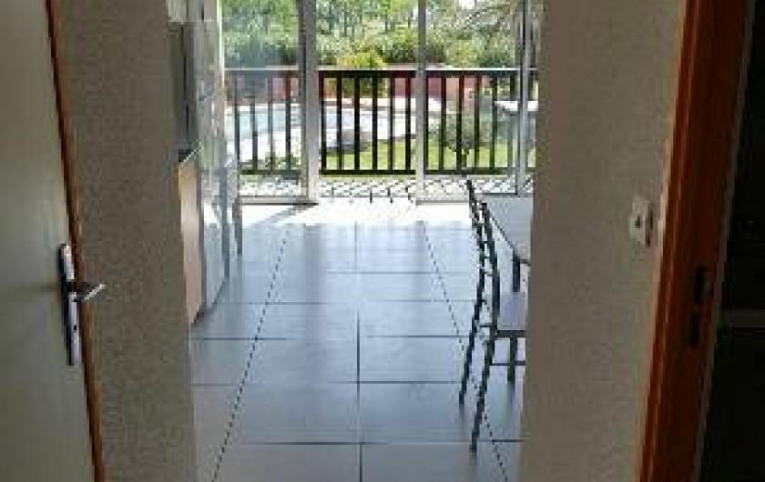 Location de vacances - Appartement à Le Cap d'Agde - VUE SEJOUR COTE DROIT