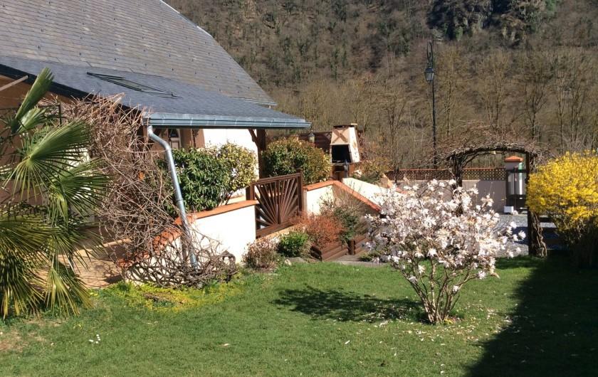 Location de vacances - Gîte à Cier-de-Luchon - la terrasse