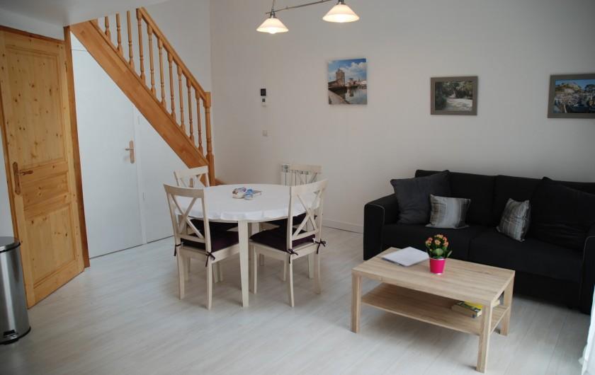 Location de vacances - Villa à Rochefort - Appartement  3 séjour
