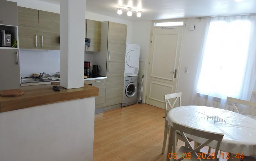 Location de vacances - Villa à Rochefort - Petite maison de ville ,  Séjour