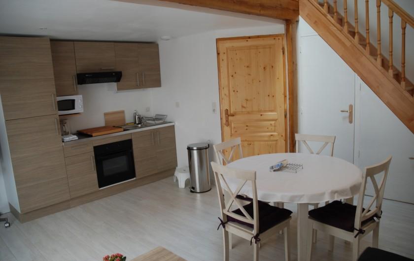 Location de vacances - Villa à Rochefort - Appartement  3 environ 40m2 séjour
