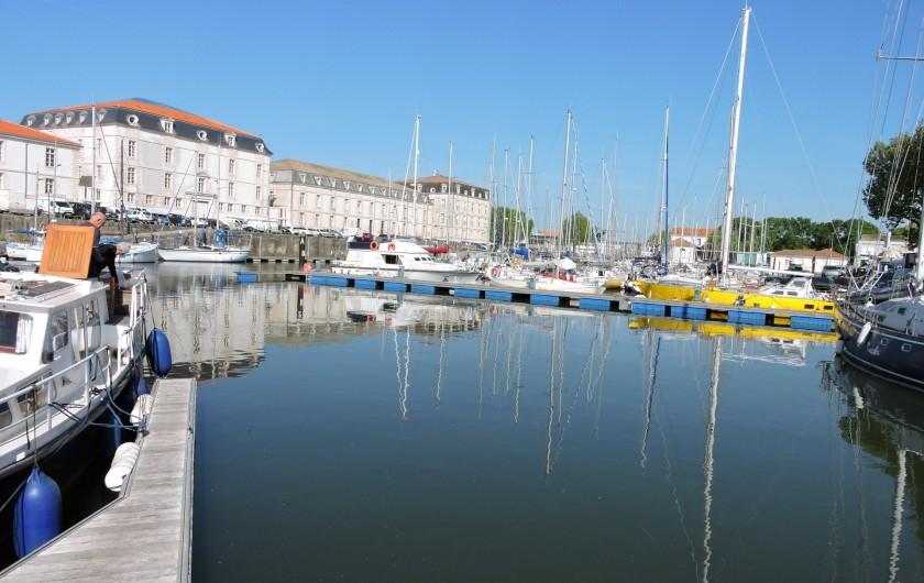 Location de vacances - Villa à Rochefort - Port de plaisance de Rochefort
