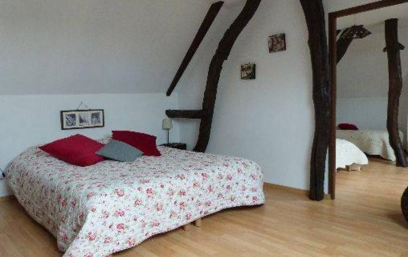 Location de vacances - Gîte à Tours-en-Vimeu - les 2 chambres au 1er étage