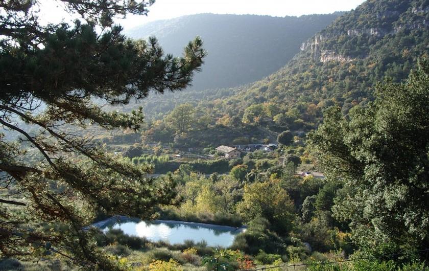 Location de vacances - Mas à Saint-Privat - Notre vallée