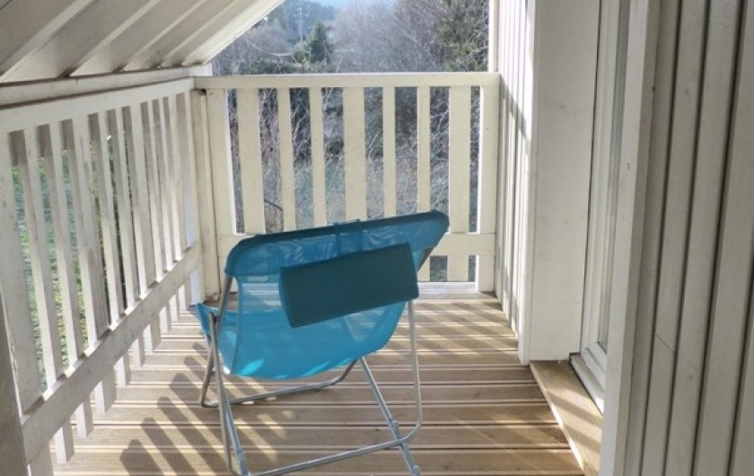 Location de vacances - Chalet à Gérardmer - Balcon avec accès de la chambre et de la mezzanines