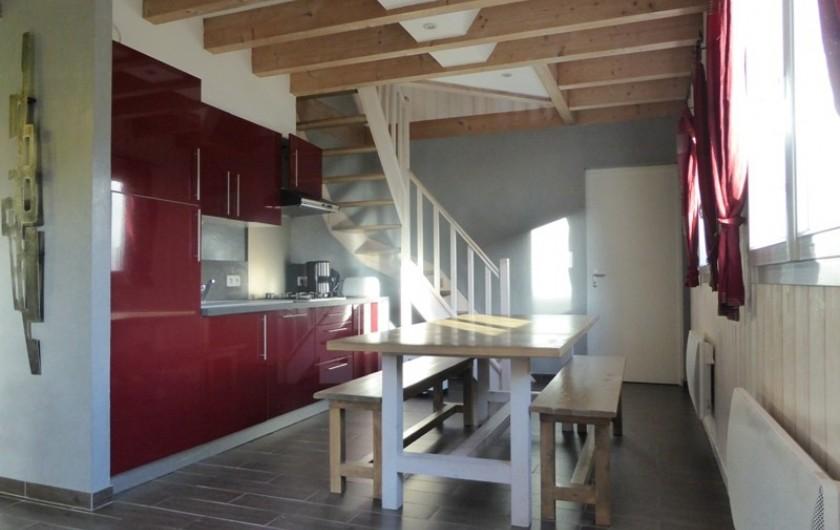 Location de vacances - Chalet à Gérardmer - Cuisine et salle à manger