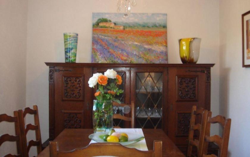 Location de vacances - Villa à Fréjus - sale a manger