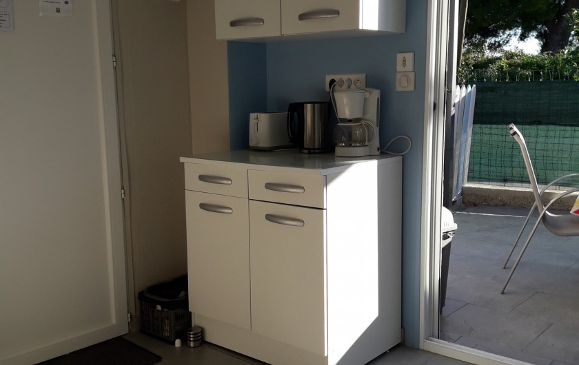 Location de vacances - Maison - Villa à Istres - le coin petit déjeuné