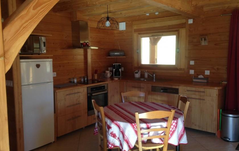Location de vacances - Chalet à Saint-Jean-Saint-Nicolas - Partie cuisine