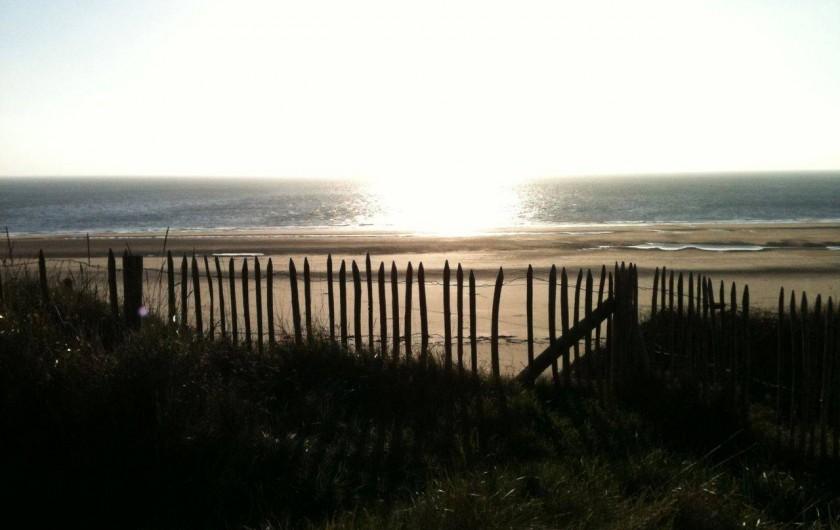 Location de vacances - Gîte à Barneville-Carteret - Vue mer depuis les dunes (2)