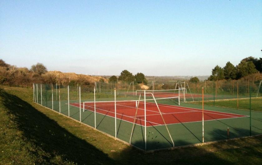 Location de vacances - Gîte à Barneville-Carteret - Tennis dans les résidences
