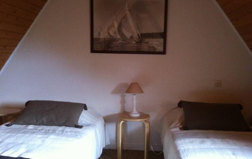 Location de vacances - Gîte à Barneville-Carteret - Chambre 2 (Mezzanine)