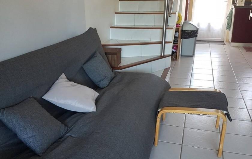 Location de vacances - Maison - Villa à Grand Baie - Canapé au salon