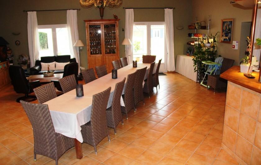 Location de vacances - Chambre d'hôtes à Vacquières - Salle à manger