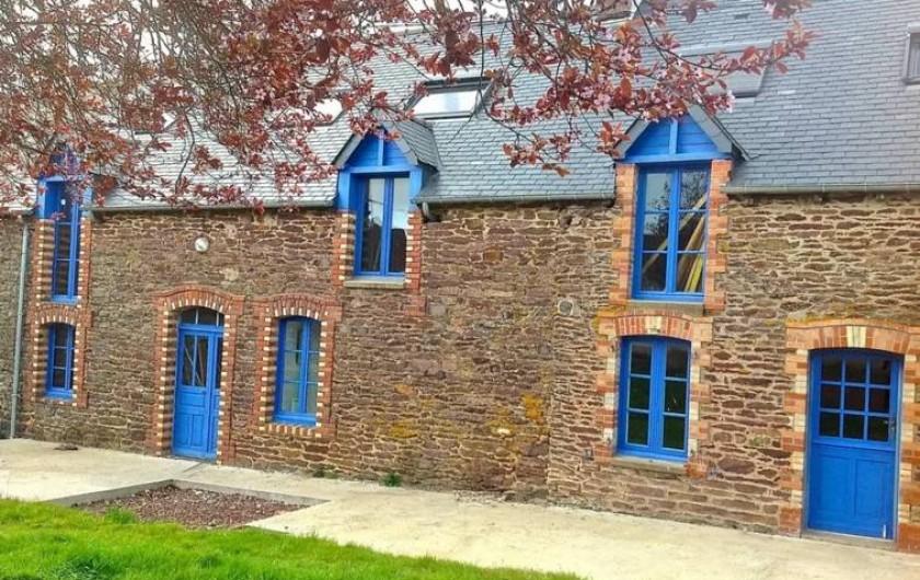 Location de vacances - Maison - Villa à Concoret - Longère typique exposée plein sud