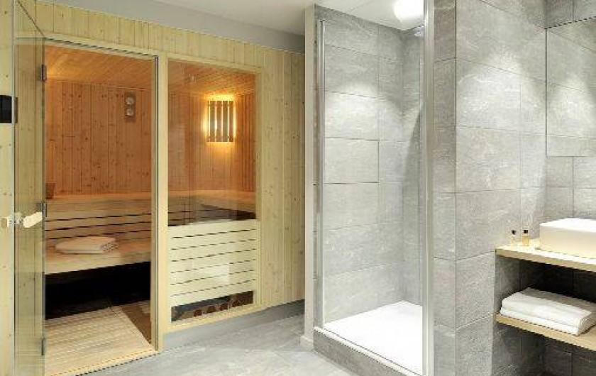 Location de vacances - Chalet à Saint-Martin-de-Belleville - Pièce sauna .