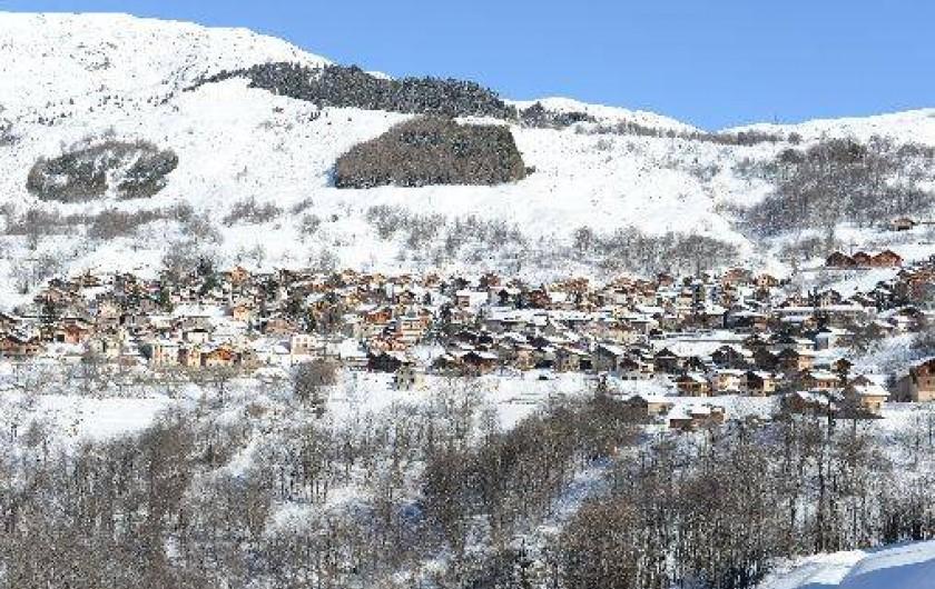 Location de vacances - Chalet à Saint-Martin-de-Belleville - Vue d'ensemble de Saint Martin de Belleville.